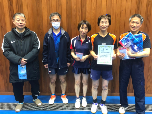 シニアの部 優勝&3位:アクティブ・HAPPY&東友会