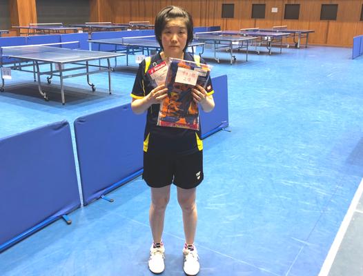 女子一般・準優勝:福島選手