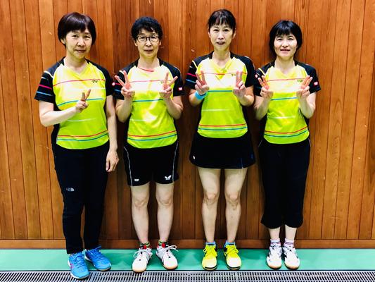 女子4部優勝:芝浦SG(A)