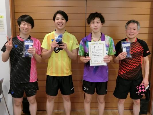 男子2部・優勝:アクティブ(A)