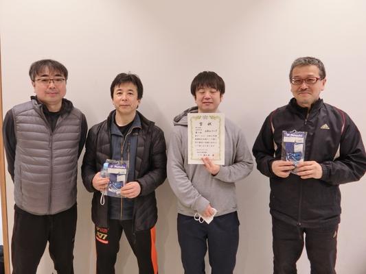 男子5部A・優勝:メカニコング