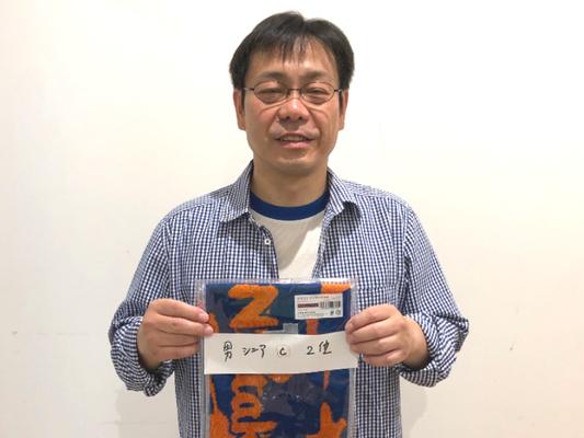 男子シニアの部C 準優勝:橋場選手(JVB)