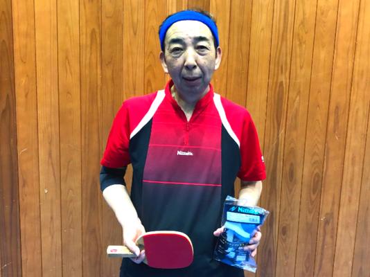 男子60歳以上 優勝:木村選手(東京税関)