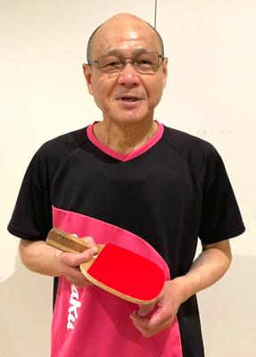 男子60歳以上 優勝:芝崎選手