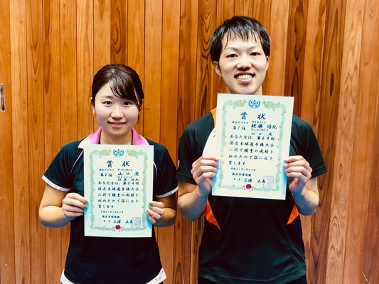 混合複優勝:佐藤選手(MSNクラブ)・山口選手(オーシャンC)