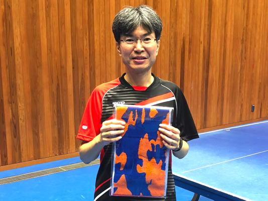 男子40歳以上 準優勝:二宮選手