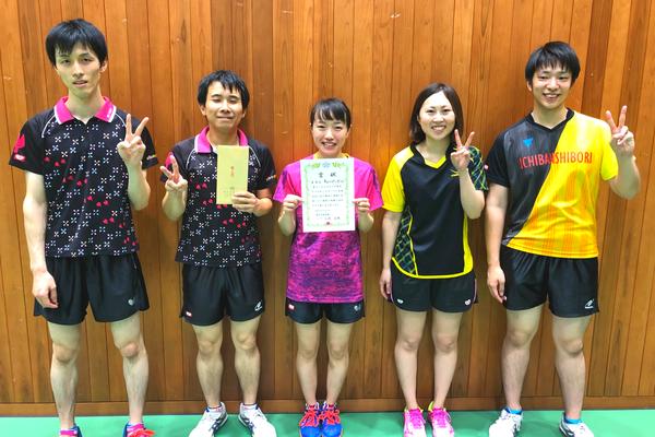 決勝トーナメント準優勝:ちょっぱ~ず(A)
