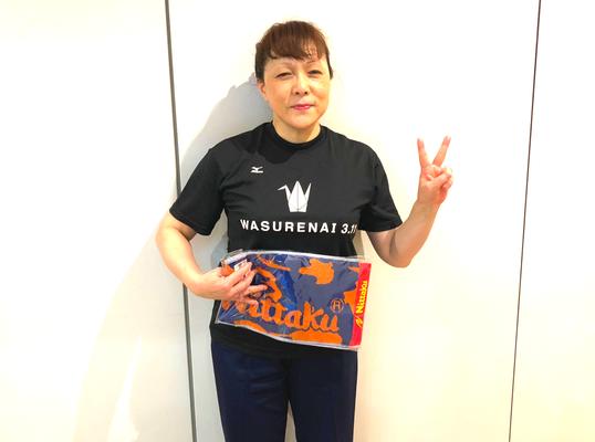 女子50歳以上・準優勝:藤木選手