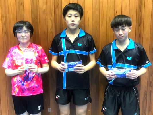 一般の部 3・4位トーナメント優勝:福島卓球クラブ