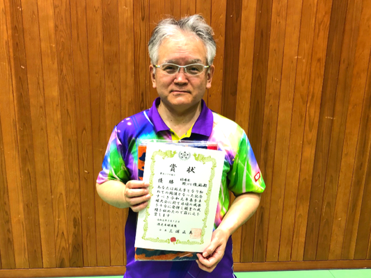 男子シニアの部A 優勝:除川選手(好卓会)