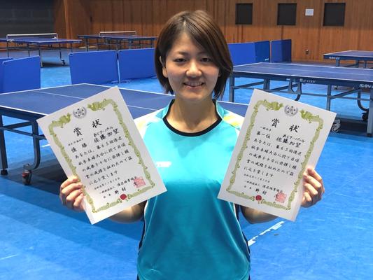 女子一般 優勝:佐藤選手