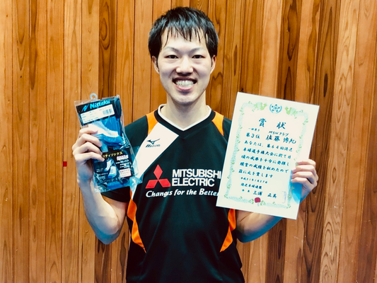 男子単3位:佐藤選手(MSNクラブ)