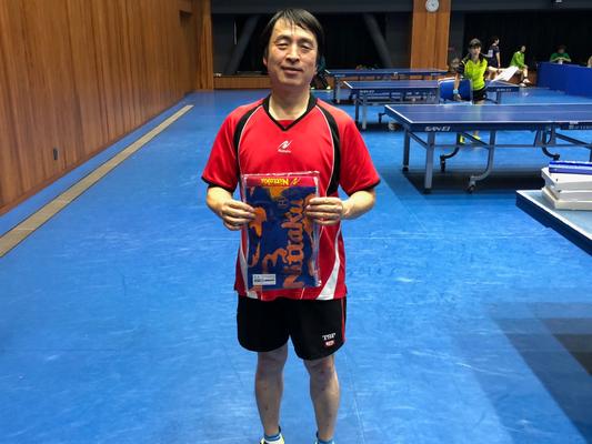 男子50歳以上・準優勝:尾塩選手