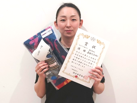 女子40歳以上 優勝:長谷川選手