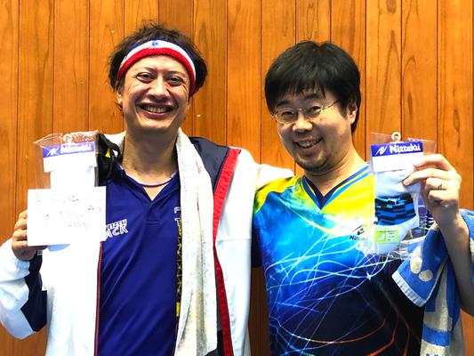 男子40歳以上 3位:リドー選手&高橋選手