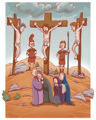 La muerte en la cruz