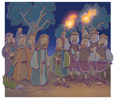 El prendimiento de Jesús