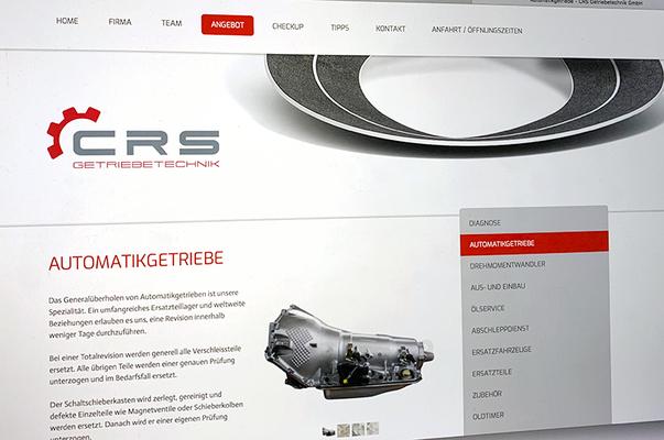 CRS – Redesign Visual Identity inkl. Logo, Broschüren und Webseite