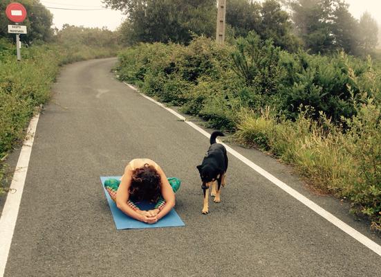 #Yoga #Freiheit #unbefahreneStraßen