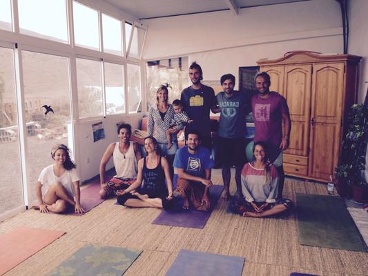Yoga & vegan Food Day @ la Finca