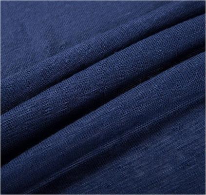 100% Hanf - Feinstrick in der Farbe navy