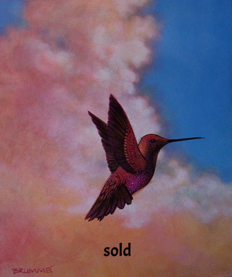 The Cloud Humming Bird/ $1,500 / sold