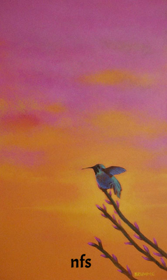 The Green Humming Bird/ gift