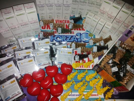 i prodotti e i gadget donati di FORZA 10