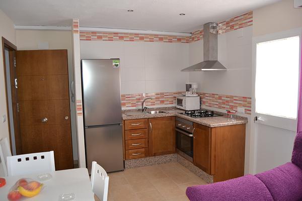 Amerikanische Küche Apartment Conil I
