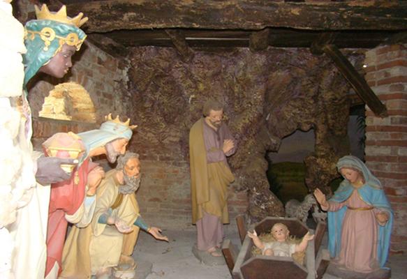 Cappella della nascita di Gesù