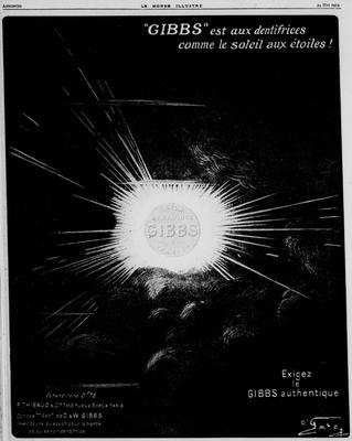Publicité du 24 mai 1919
