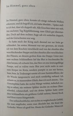 """Erste Seite: """"Unter der Drachenwand"""""""