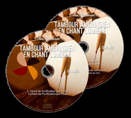 Tambour amérindien en Chant Lumière