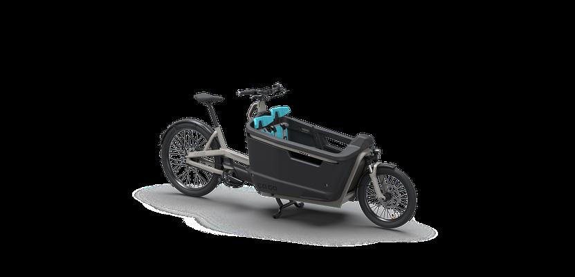 Tiefer Schwerpunkt Optimal geerdet: Mit tiefem Schwerpunkt dank Battery Safe in der Cargobox ist das Gewicht stabil verteilt.