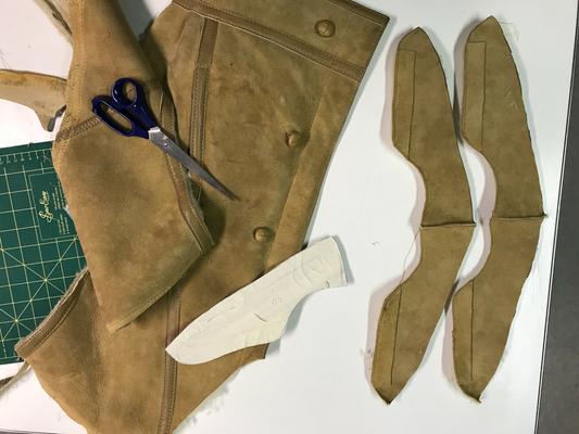 veste peau de mouton  recyclé en sneakers pour l'hiver