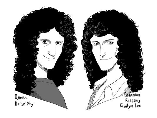 Queenのブライアン・メイと映画『ボヘミアン・ラプソディ』のブライアン役グウィリム・リー