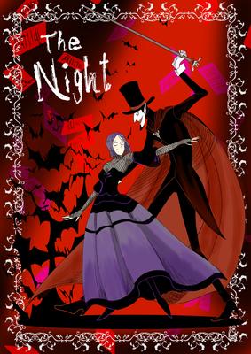 Voltaireという歌手の方の曲「The Night」のファンアニメーションをDaria Cohenという方が作っているがえらくツボに入る作品だった!