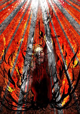 生命を焼き切る 太陽の 叫ぶ声の行方 まだ知らない 霊知の太陽信仰 岸田教団&THE明星ロケッツ