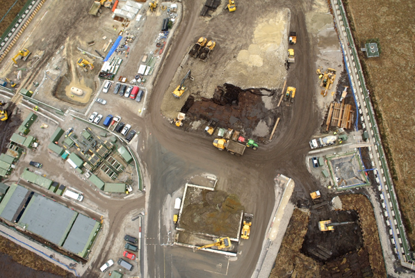 Construction site aerial surveying using drones