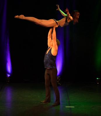 Tanz-Akrobatik Show Act Hoher Flieger Dirty Dancing