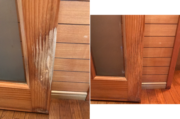 木製建具修理