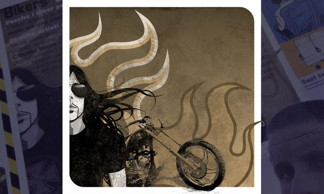 "illustration for ""Stirato"" poster magazine"