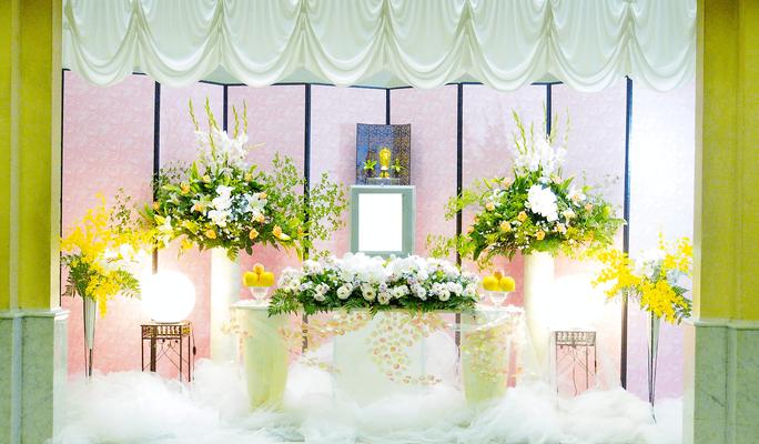 家族葬プラン18 基本生花+花追加