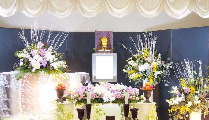 お葬式プラン30 基本生花