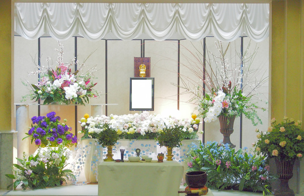 花の祭壇、施工実例034
