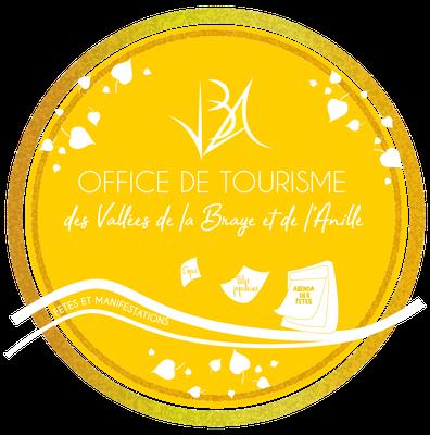 Création de l'identité visuelle de l'Office de Tourisme des Vallées de la Braye et de l'Anille - Graphiste Sarthe