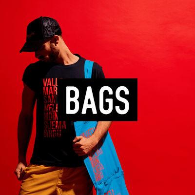 Selection of Quirky Designed Tote Bags and Backpacks
