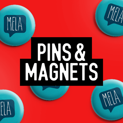 Pins and Magnets with an array of design options