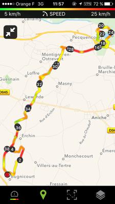 Le parcours 40 kms