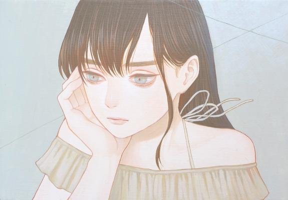 「忘却」 227x158mm キャンバスにアクリル Acrylic on Canvas